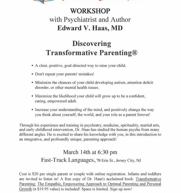 Workshop: March 14th at Fast Track! (Postponed)